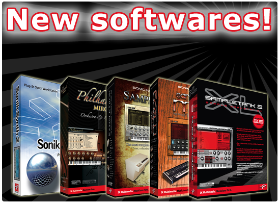NEW Studio Softwares